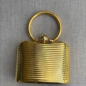 Gold Vintage Inspired Handbag